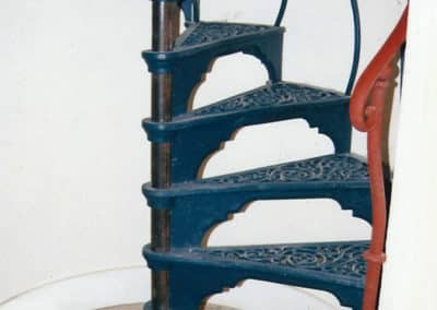 Iron Spiral Staircase Casting