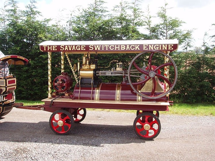 All the fun of the fairground – Savage fairground steam engine restoration project – by Mark Sutton